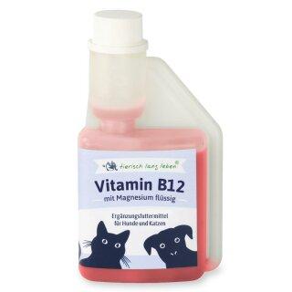 Vitamin B12 mit Magnesium flüssig 250 ml für Hund & Katze