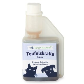 Flüssige Teufelskralle 250 ml für Hund & Katze