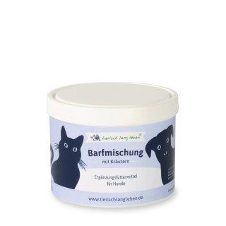 Barfmischung mit Kräutern Pulver 250 g für Hund